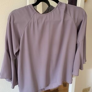 Forever Contemporary, Size S, Purple Bell Sleeve